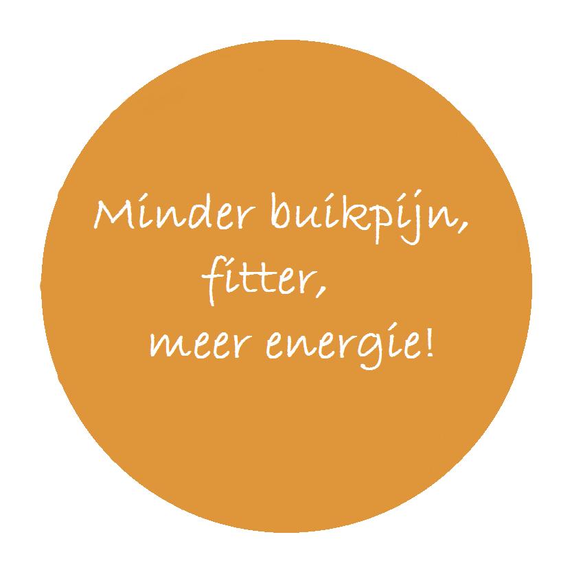 Minder buikpijn, fitter, meer energie