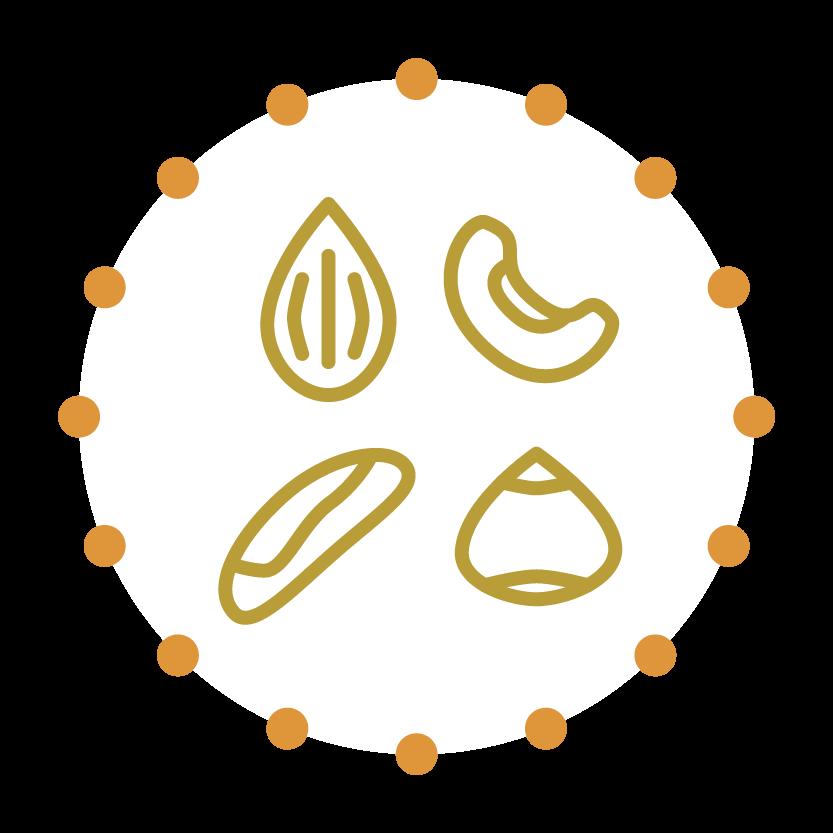 noten-allergie-pinda-dieet